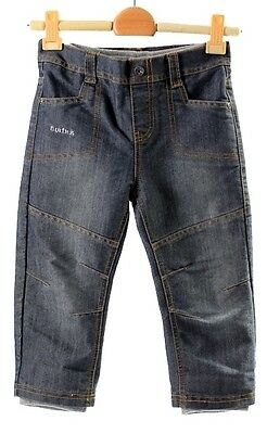 Australian Designer BUBBI JOEY Twinz Boys 2-in-1 Long Jeans Pants 2&3&4yrs BNWT