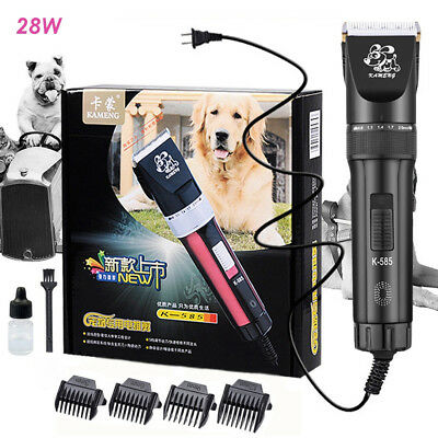 Electric Pet Hair Trimmer Professional Dog Shaver Cat Animals Grooming Clipper