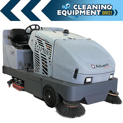 Advance Captor 5400 Propane Powered Industrial Sweeper Scrubber