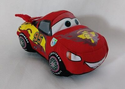 "Disney's Pixar Cars Lightning McQueen  Plush - 10"" Stuffed Toy Doll Red Race"