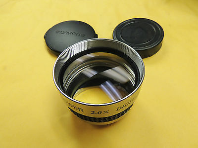 Bower 2.0x Tele Lens Telephoto Converter - 37mm Mount, 46mm Filter, Two Caps