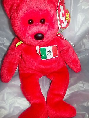 very Rare Authentic Ty osito Beanie baby Mexico