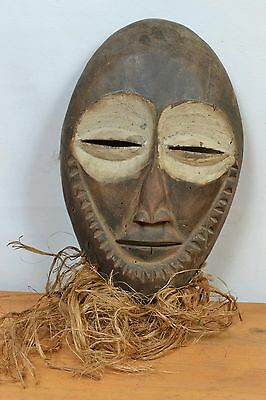 African Lega  Bearded Mask DR Congo