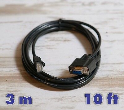 NEW TELEQUIP Data Communication Cable for Transact 2+CE - 10ft DB-9
