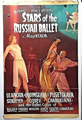 Stars Of The Russian Ballet Movie Poster(1954)