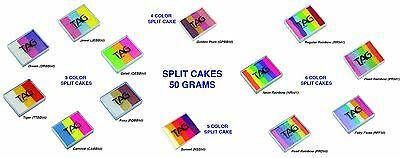 TAG Face paint Split Cakes 50 Grams MULTI DISCOUNT AVAILABLE INQUIRE