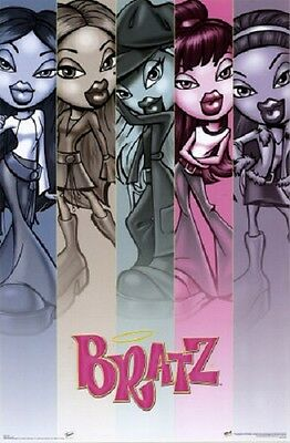 2003 Bratz Fall Poster New 22X34 Fast Free Shipping