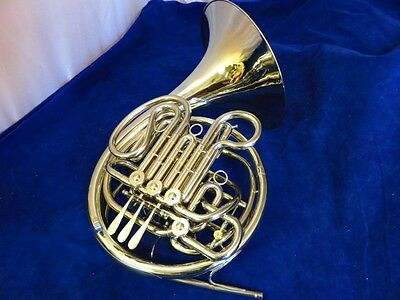 Holton Double French Horn, Model 179, Completely Restored!
