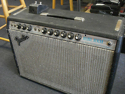 Fender Deluxe Reverb silver face