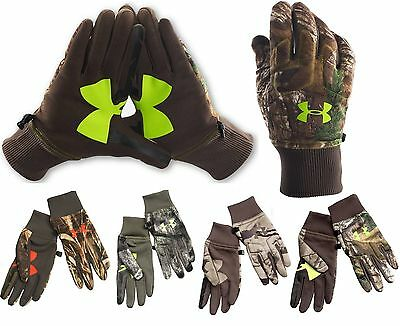 Under Armour ColdGear Infrared Scent Control Fleece Gloves (Multiple Patterns)