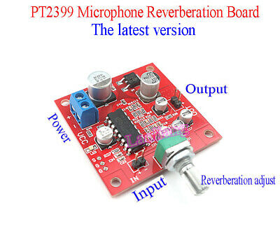 1pcs PT2399 Microphone Reverb Plate Reverberation Board No Preamplifier Function