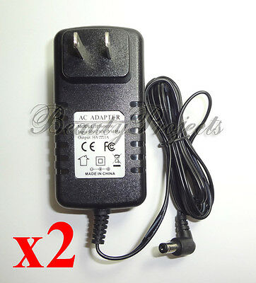2 CND LED Light Adapters Gel Lamp Dryer 100-240V Power Supply AC Adapter NEW!!!
