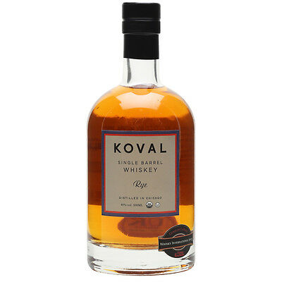 Koval Single Barrel Rye Whisky 500ml