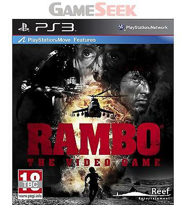 Rambo The Video Game - Playstation Ps3 Brand New Free Delivery