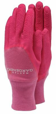 Town & Country The Master Gardener Gardening Gloves Ladies Medium - Pink
