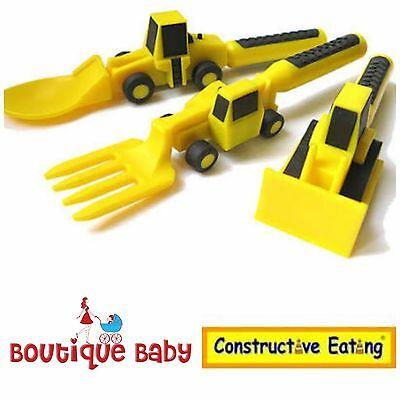 Children's Constructive Eating Utensils. Trusted Australian seller