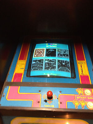 Ms Pacman/ Pacman standup  conversion to Classic 60 games