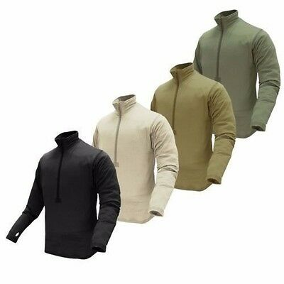 Condor 603 BASE II Tactical Operator OPS Zip Pullover Thermo Grid Fleece
