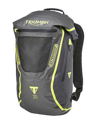 GENUINE Triumph Motorcycles Terrain 20 Litre Back Pack Bag Waterproof NEW