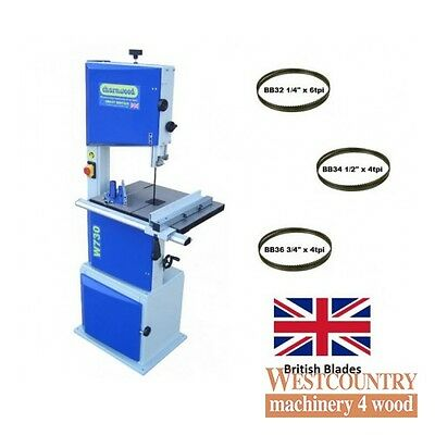 """Charnwood W730 14"""" Woodworking Bandsaw Package Deal"""