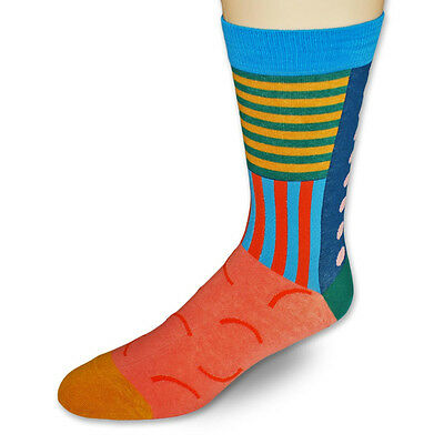 Sock HQ Men and Women Cool Crazy Summer Blowout Fun Dress Crew Socks