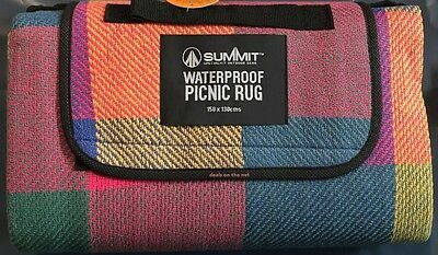 Waterproof Folding Blanket Outdoor Camping Beach Festival Backing Picnic Rug Mat
