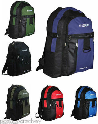 Backpack Rucksack Travel Gym School Sports Work Bag College Uni Mens Boys A4