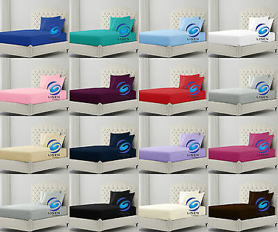 Bunk Bed Fitted Sheet 2 Foot 6 Inch Small (75cm x 190cm)
