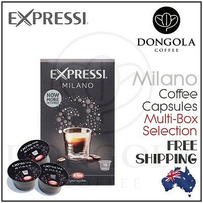 MILANO Expressi Capsules Pods for Automatic Espresso Coffee Machines K-Fee ALDI