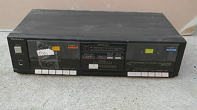 Technics  Rs-D550W  Stereo Twin Cassette Deck