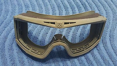 Revision Desert Locust Foliage Ballistic Goggles Replacement Frame. US Mil Issue