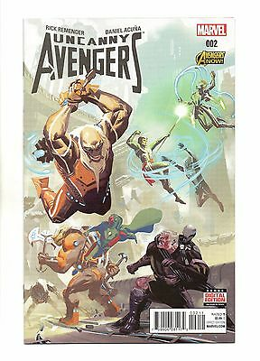 Uncanny Avengers Vol 2 No 2 Apr 2015 (NM) Marvel,1st Print