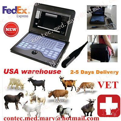 For Animals,US Veterinary portable Ultrasound Scanner Machine 7.5M Rectal Probe