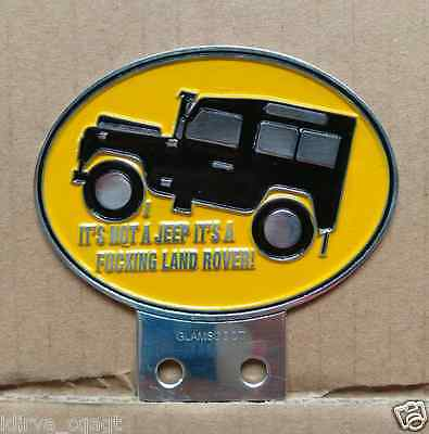 Land Rover Owners Club Series 1 2 2a 3 Front Panel Metal Grille Badge VINTAGE
