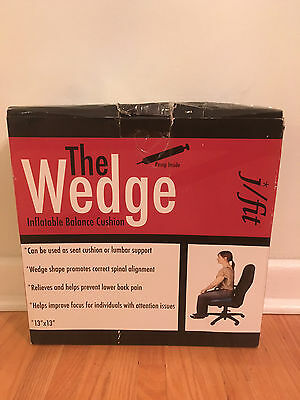 j/fit Sit Wedge Inflatable Balance Cushion