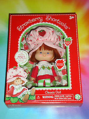 """STRAWBERRY SHORTCAKE 6"""" inch Doll 1980's Classic Collection 2016"""