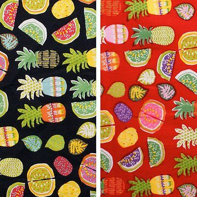 Exotic - 100% cotton - woven fabric - colourful exotic print - by the metre