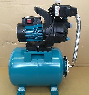 """1"""" Water booster set, domestic automatic water boosting, with pressure tank"""