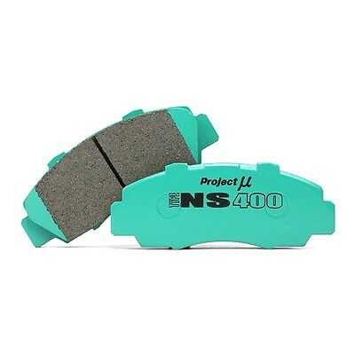 Project Mu Ns400 Brake Pads Front For Honda Civic 03.07 - Fn2 Type R Fn2R Type R