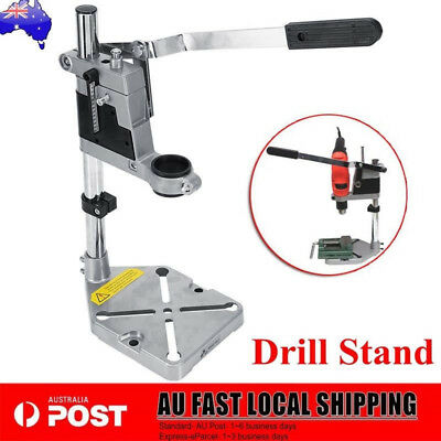 Universal Holes Bench Drill Press Stand Metal Base Frame Power Drilling Collet