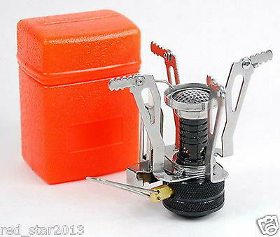 Outdoor Cooking Stove Burner F Picnic Canister Camping Alcohol Burner