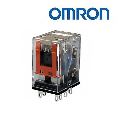 Omron MY4 110-120VAC(S) 14 Pin Plug-in Relay 4PDT Plug In Non-Latching Relay