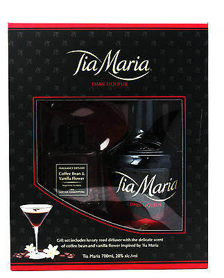 "Tia Maria Dark Liqueur with Diffuser Gift Pack ""Limited Edition"" 700ml"