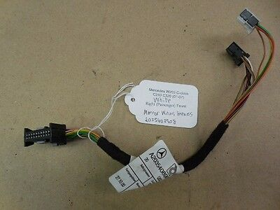 Peachy Mercedes W203 C240 C320 Right Passenger Front Mirror Wiring Harness Wiring Digital Resources Cettecompassionincorg