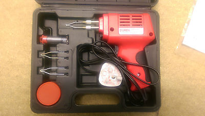 Soldering Iron Gun 175W Watt 240V Electric Electrical Solder Kit + 2 Tips