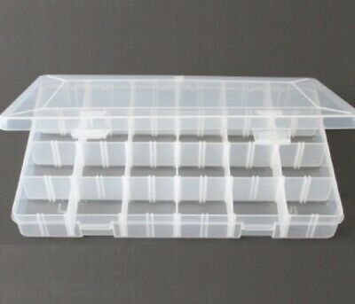Rock Collection Box w/Adjustable Compartments