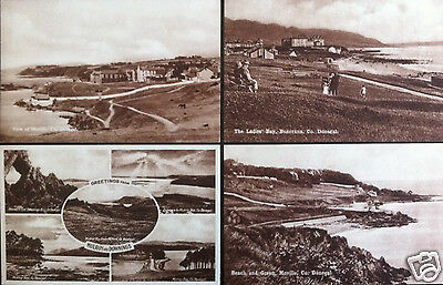 56 x Co DONEGAL POSTCARDS ALL FROM 1920's IRELAND IRISH PK 16