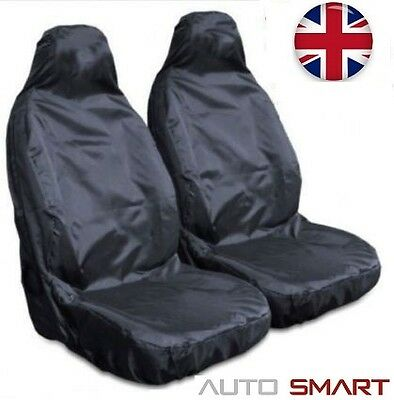 Ford Ranger  Heavy Duty Waterproof Front Black Seat Covers 1+1