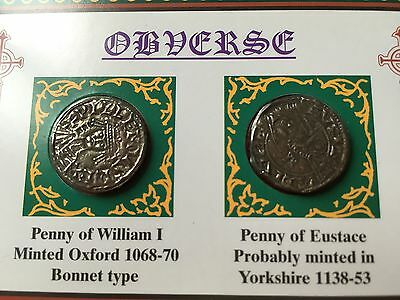 MEDIEVAL COIN PACK Norman-Plantagenet England 1066-1154 Catholic England Kings