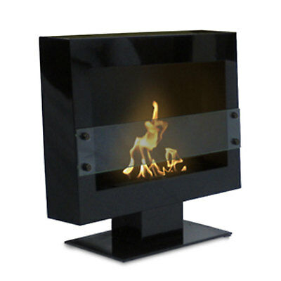 Anywhere Fireplace Tribeca II 2 Floor Stand Fireplace Smokeles Bio Fuel Odorlese